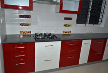 Kitchen InstALLED at Mallathalli